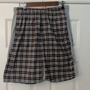 Men's NIKE DriFit Plaid Shorts